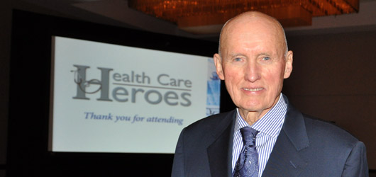 John M. Tew, Jr., MD, gave the keynote address at the 2014 Health Care Heroes awards banquet.